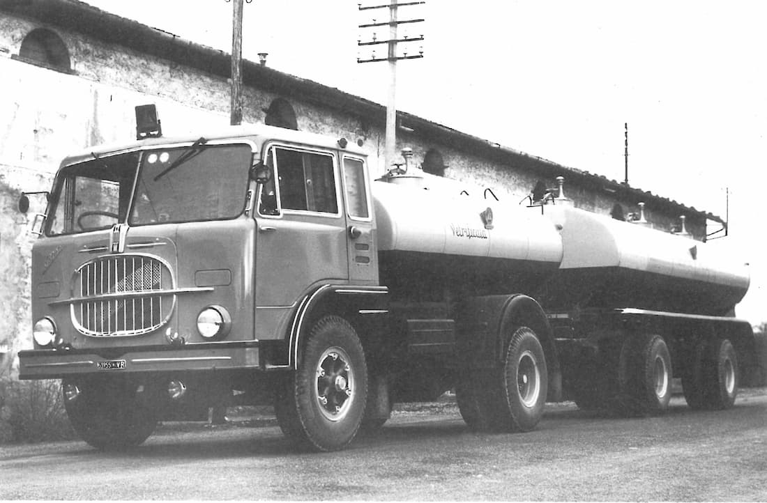 Old Tanker Car with Trailer